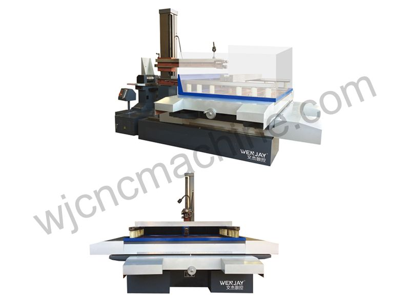 Wire Cutting EDM Holes Machine