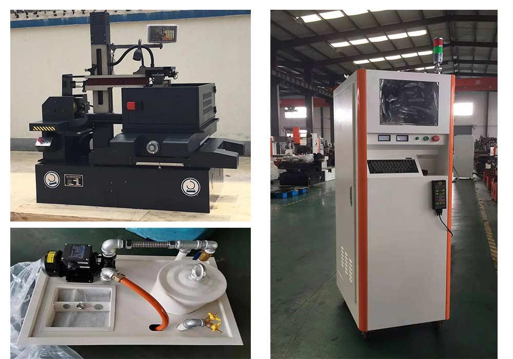 2.Multicut / meddle speed wire cutting machine EDM